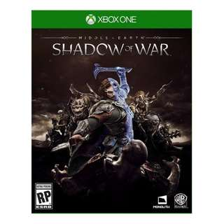Xboxone Middle-Earth: Shadow Of War