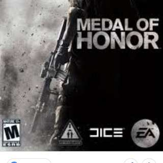 Medal of honour game original unwrapped