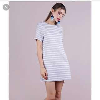 Ellie T dress (stripes)