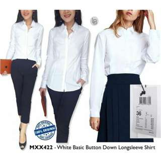 MEXX White Solid Shirt