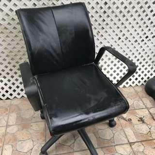 皮 電腦椅