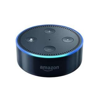 BNIB Black Amazon Echo Dot (2nd Gen) - Ready Stock