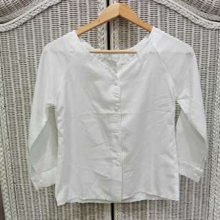 BLOUSE WHITE SABRINA
