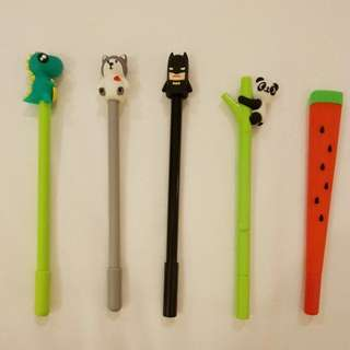 Cute figurine pens