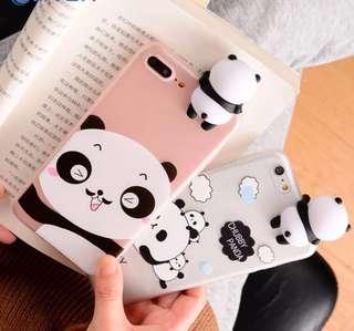 Casing Handphone - 3D Cute Panda