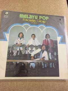 Vinyl Record Melayu pop-favourites group
