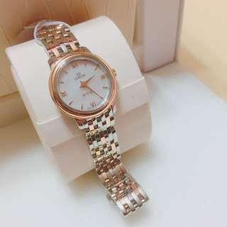 OMEGA 典雅系列 24.4毫米石英腕錶
