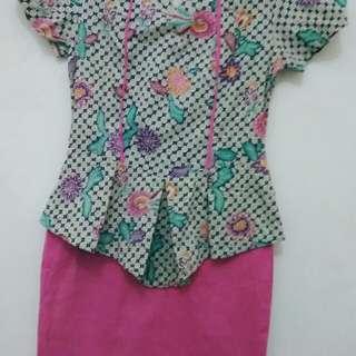 Baju dress batik