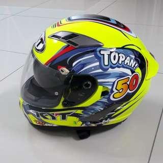 Helmet KYT tahun 2016
