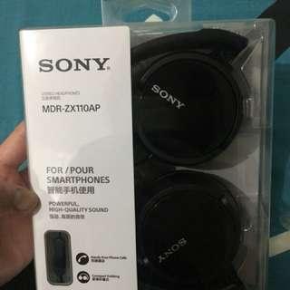 SONY Headphones MDR-ZX110AP