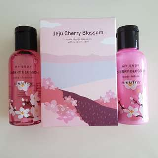 Innisfree cherry blossom set