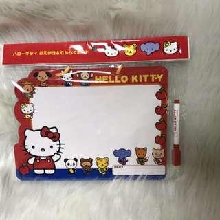 日本限定Hello Kitty 畫板連筆
