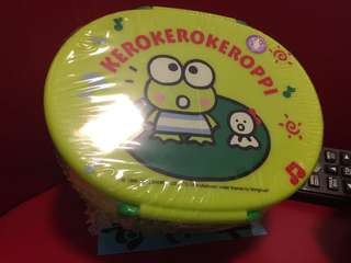 Sanrio official Container Lunch Box Kerokerokeroppi