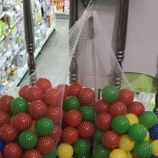 海洋球1個2元,2個3元,買越多折扣越多