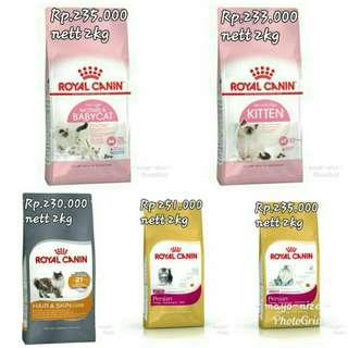 Makanan kucing royal canin all variant