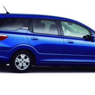 Monthly car rental $1188