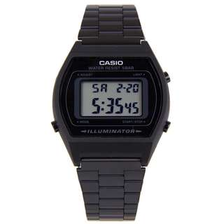Casio Vintage B640WB-1A Black Stainless Steel Watch - COD FREE SHIPPING