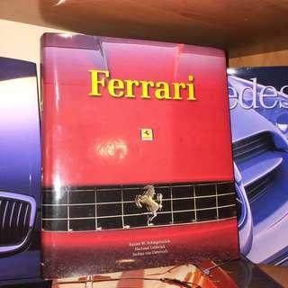 Car enthusiasts! Ferrari by Rainer W. Schlegelmilch, Hartmut Lebrink, Jochen von Osterroth, Hardcover, 399 pages