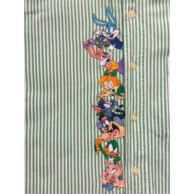 90s VINTAGE TINY TOONS BUTTON-UP SHIRT