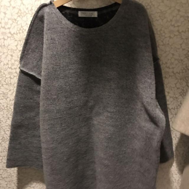 正韓羊毛針織厚毛衣