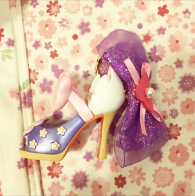 迪士尼公主高跟鞋吊飾
