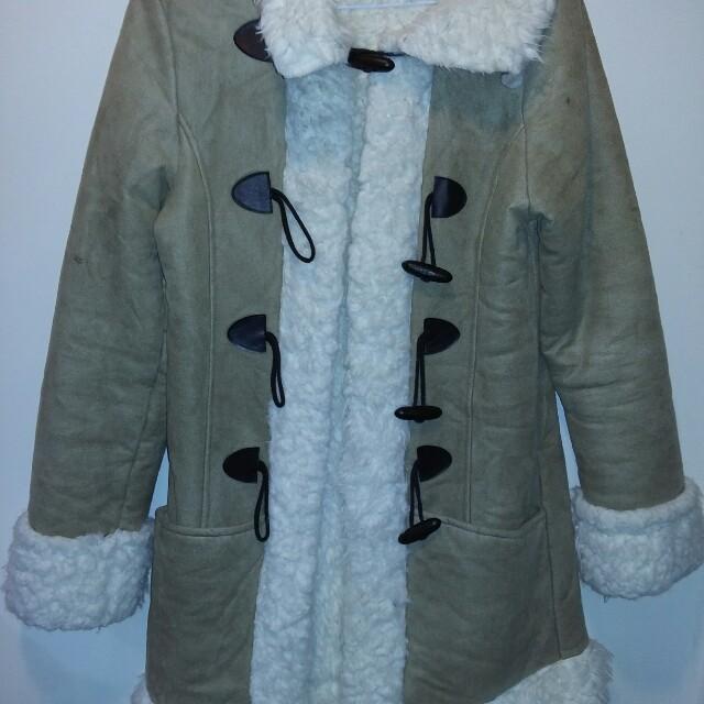 羔羊絨麂皮外套