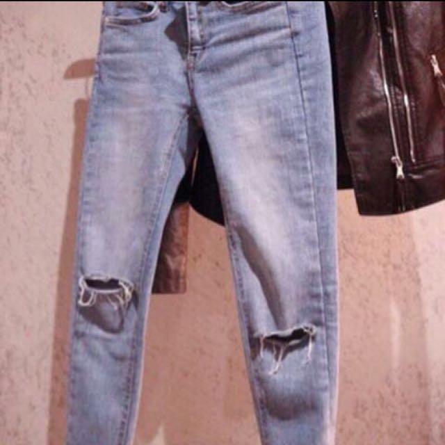 #新春八折 低調時尚牛仔褲