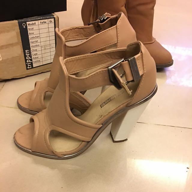 《降》澳洲購入 米色裸靴 7