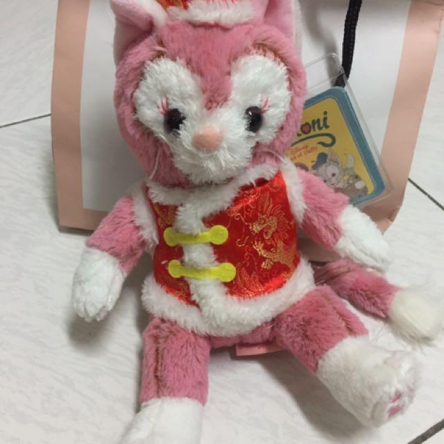 畫家貓 粉色畫家貓 過年版 史黛拉兔Stella Lou