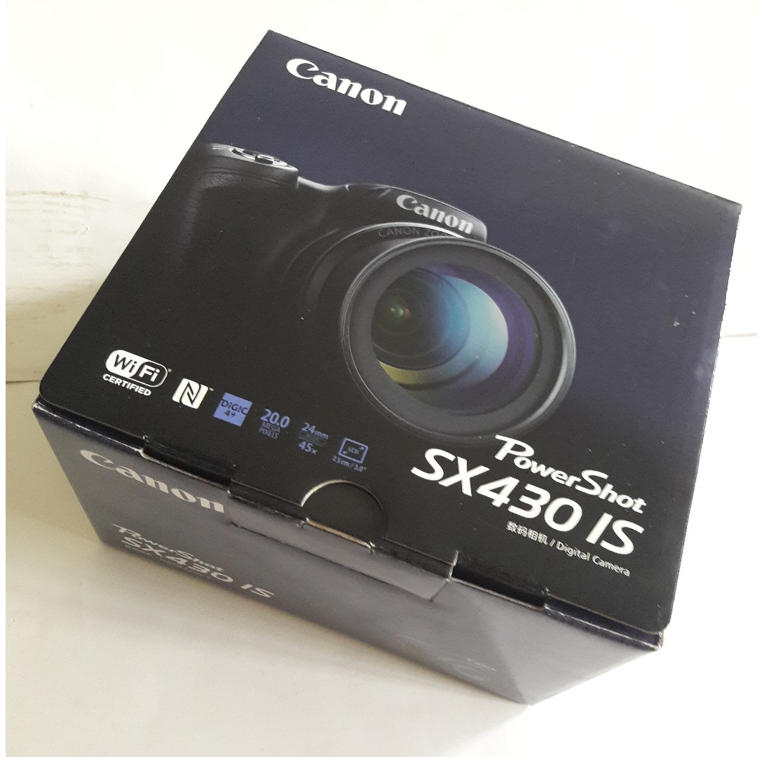 🆒 Canon PowerShot SX430 IS (20.0MP/45x/Wi-Fi)