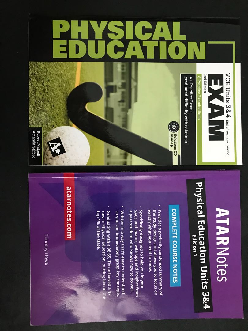A+ Exams and ATAR Notes for Units 3&4 VCE Physical Education