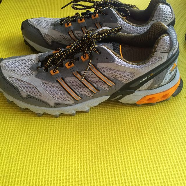 Adidas Mens KANADIA TR Shoes Size US 10 1/2 Trail Running Shoes