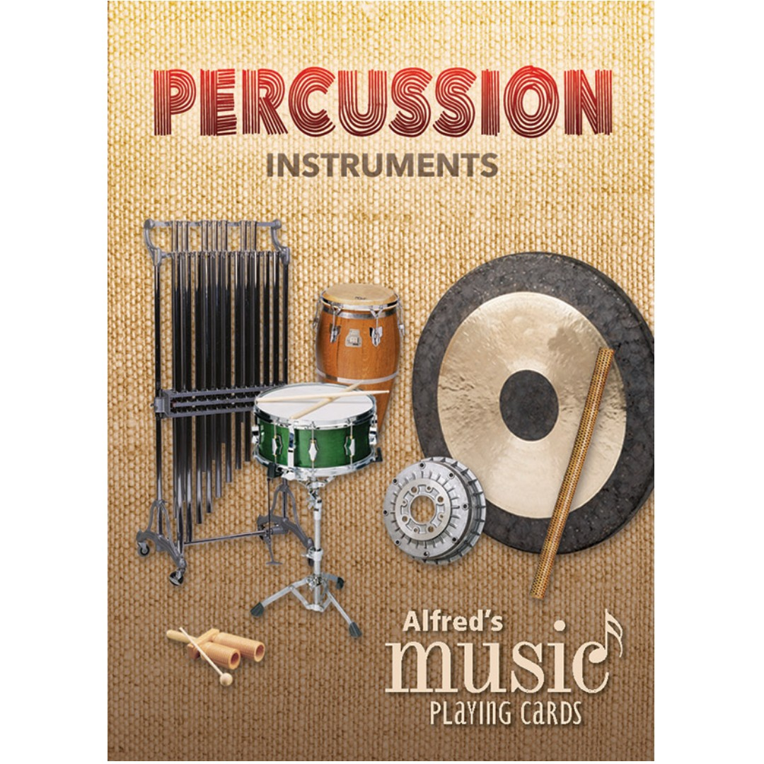 ALFRED'S MUSIC PLAYING CARDS: PERCUSSION INSTRUMENTS