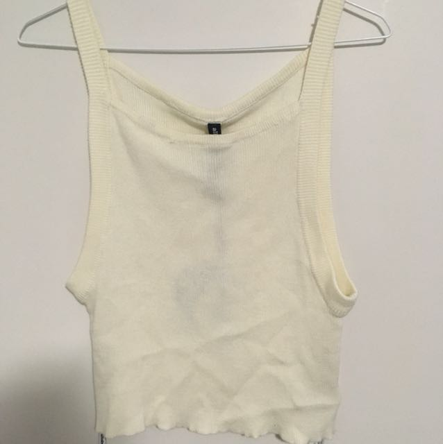 All About Eve cream singlet top 10