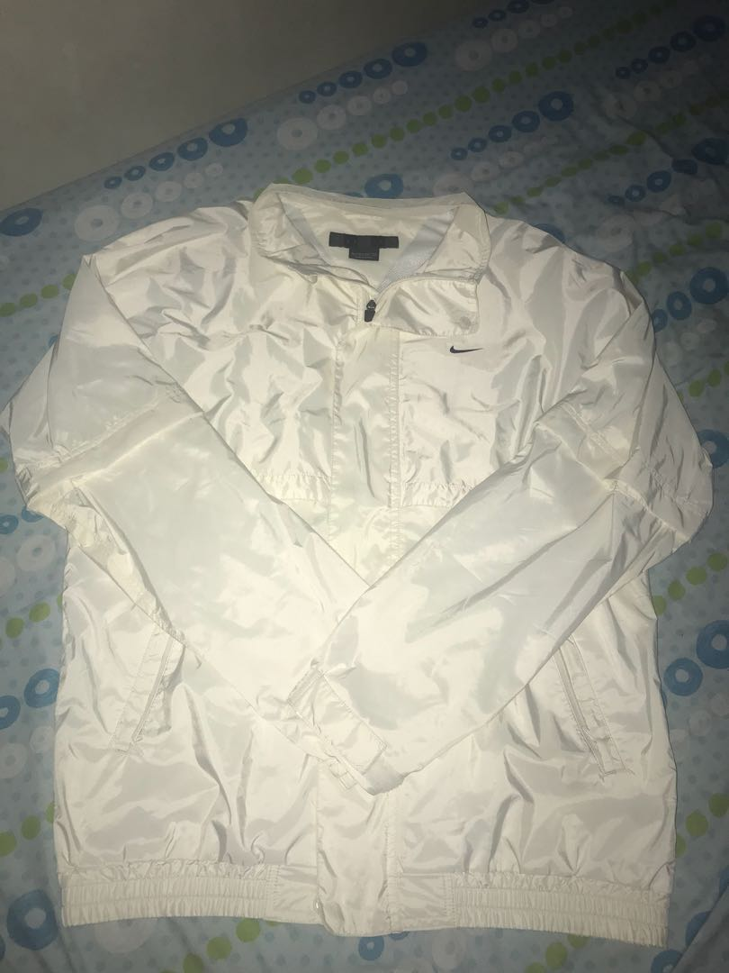 3245ef78a1 All-White Nike Golf Windbreaker