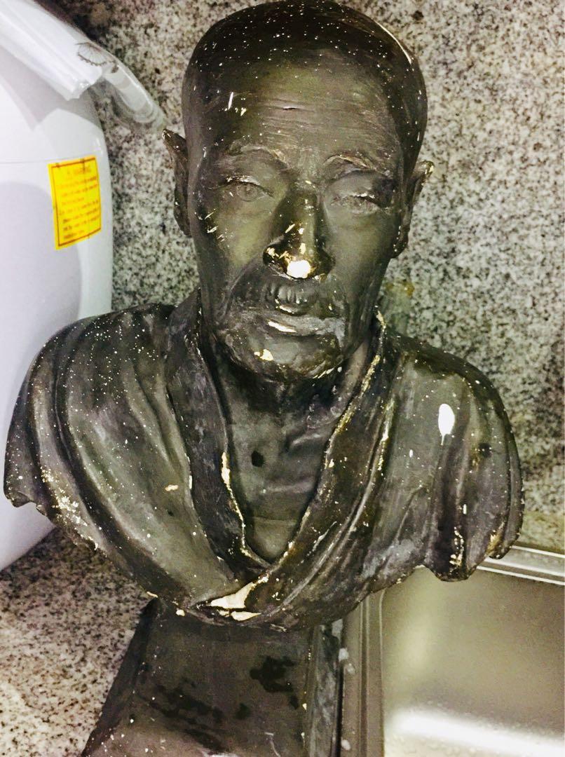 antique japanese statue decor figurine