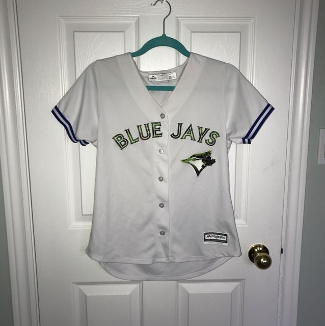 Authentic Camo Blue jays jersey