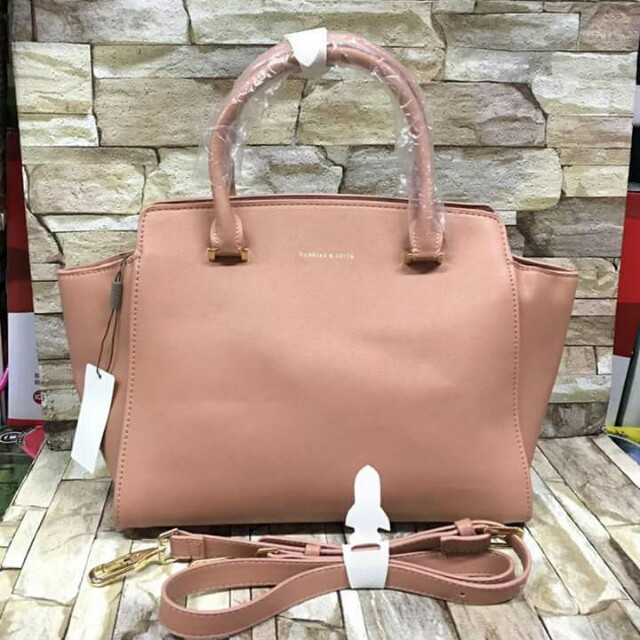 Authentic Charles & keith Hand bag  w/sling
