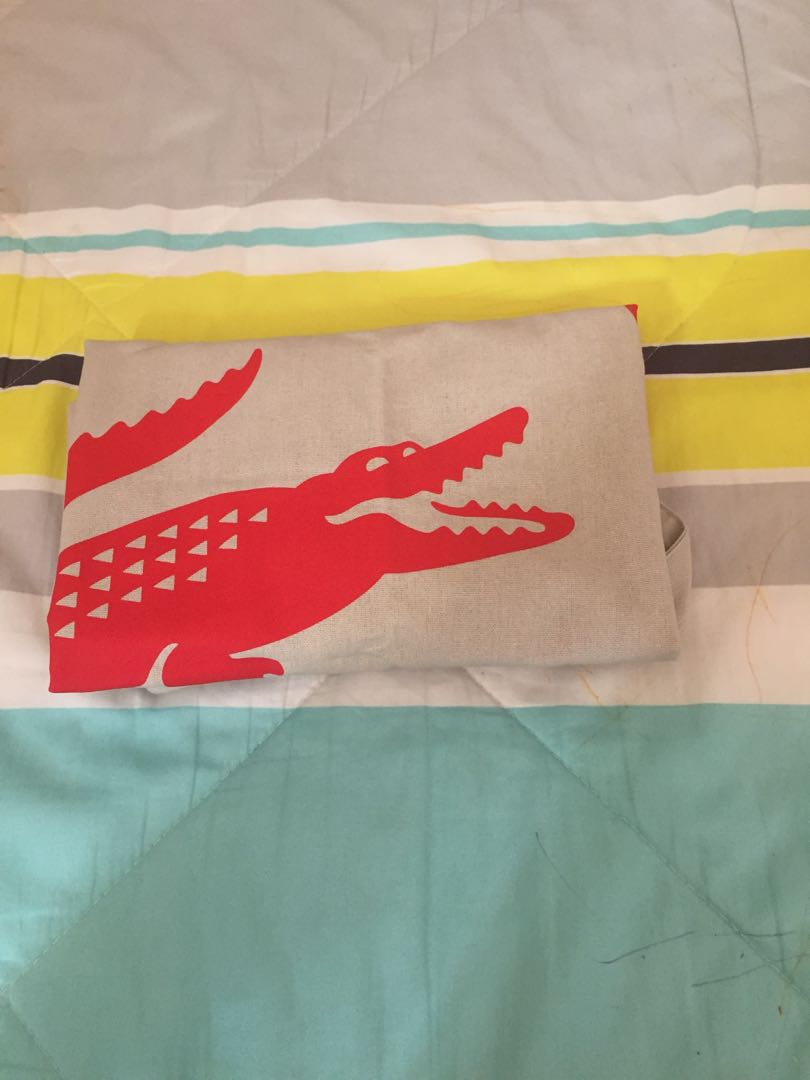 Authentic Lacoste shopping bag