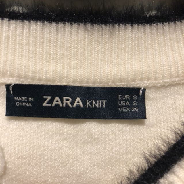 Authentic zara knit top