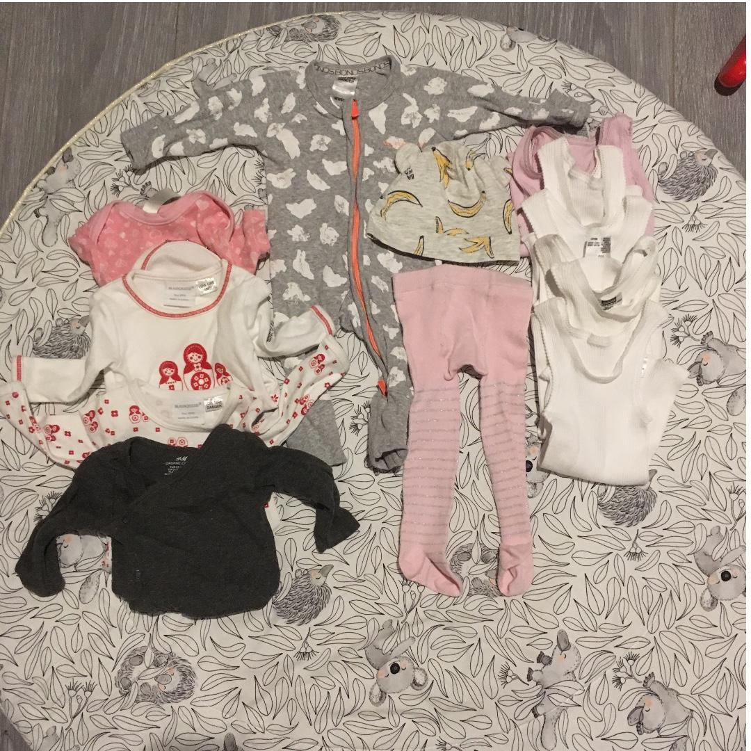 Baby Girl Clothing Bundle 0000 / 000 Bonds / H&M / Marquise