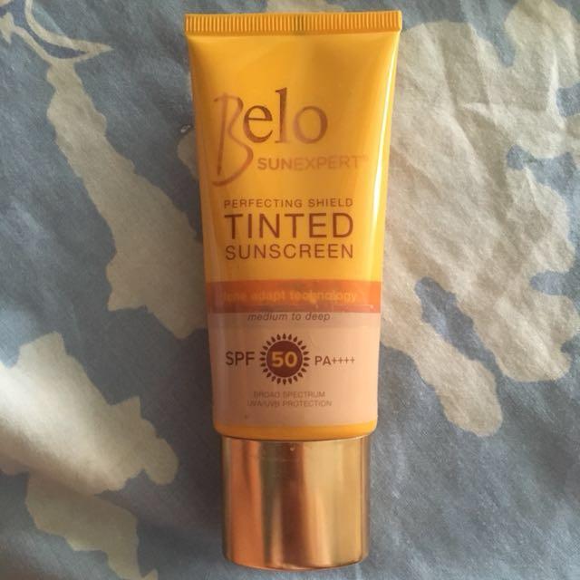 Belo tinted sunscreen