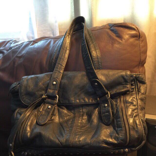 BIANCO LEATHER BAG