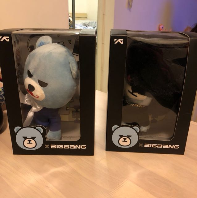 Bigbang bear 正版 GD And TOP