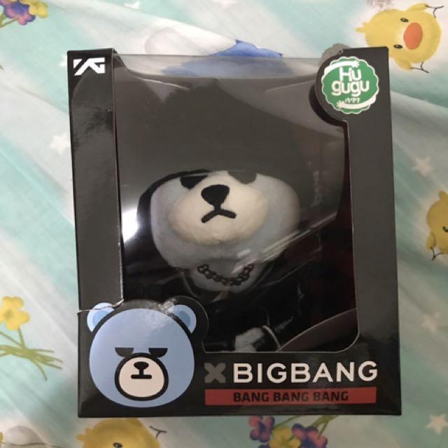 Bigbang Krunk T.o.p 手環娃娃