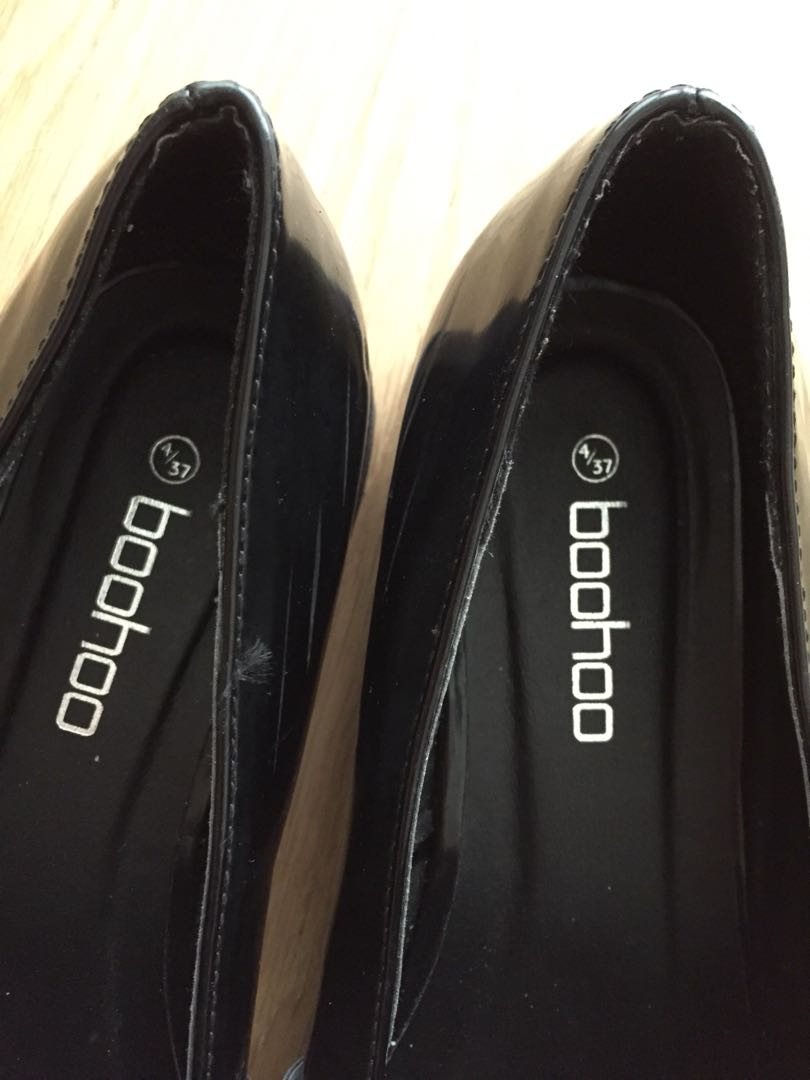 Black shoes size 37