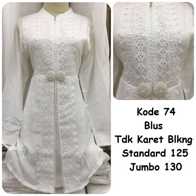 Blus putih #74