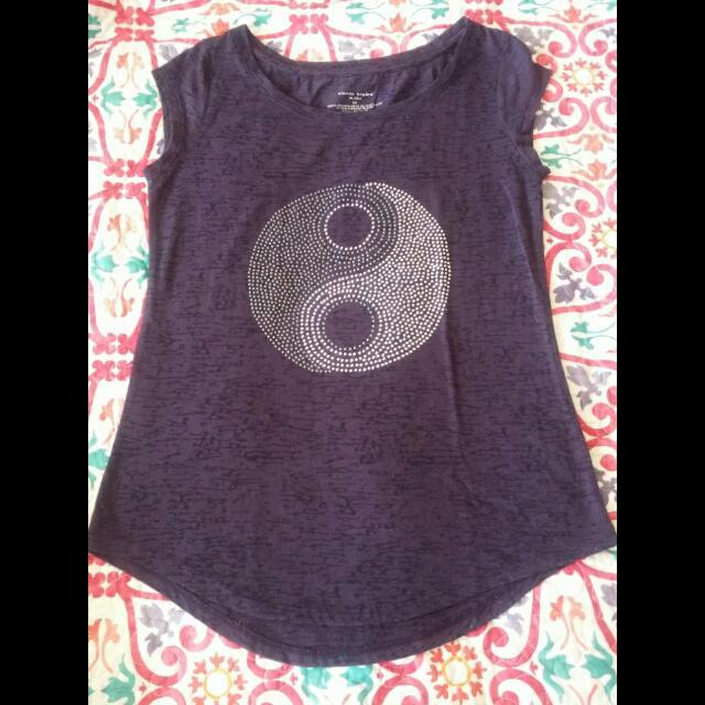 Bn Purple Blouse (S-M)