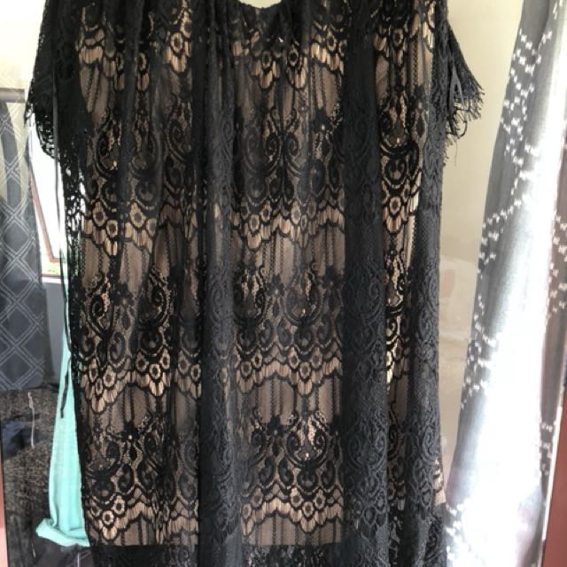 Boohoo Lace Dress