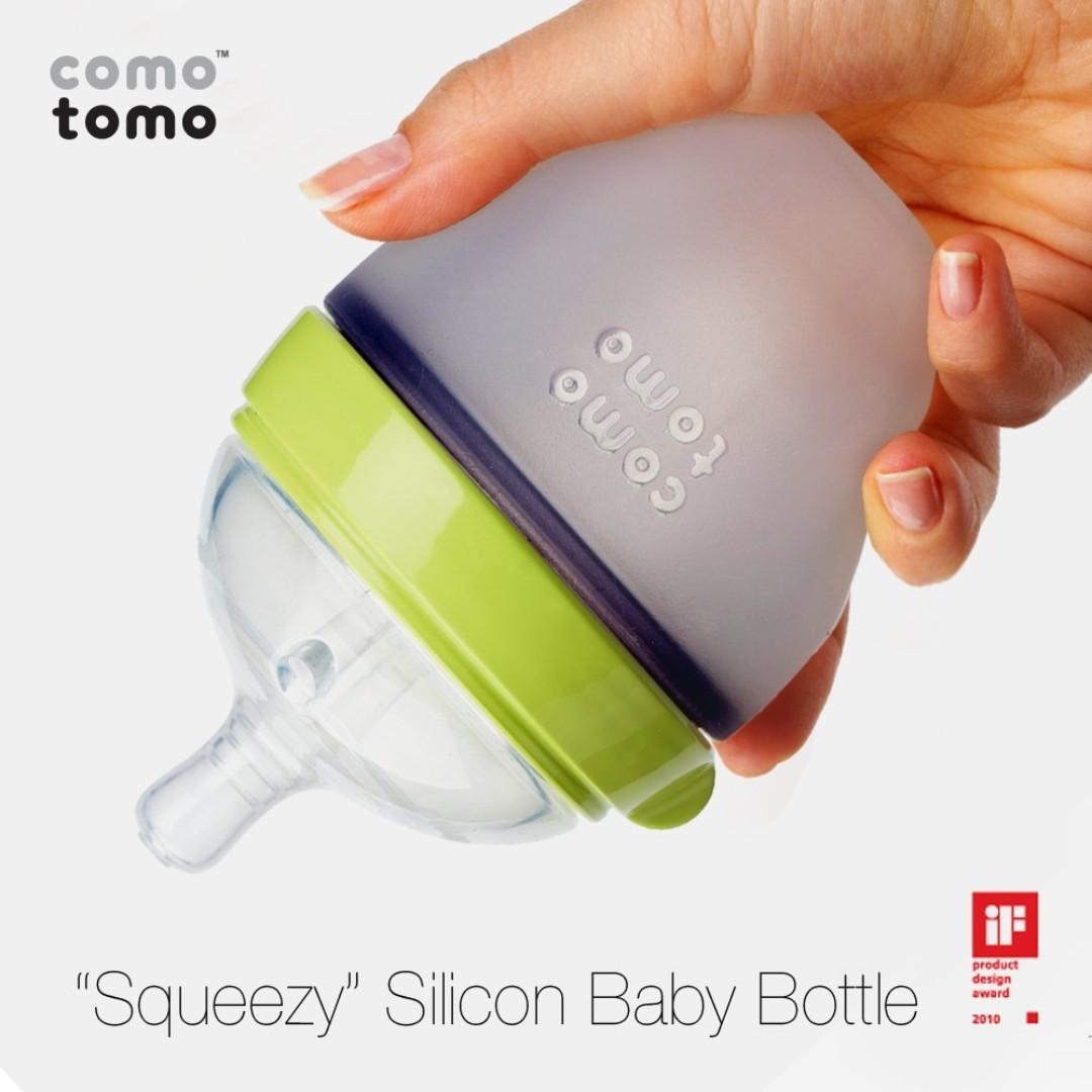 Bottle Comotomo 150ml - Green Color